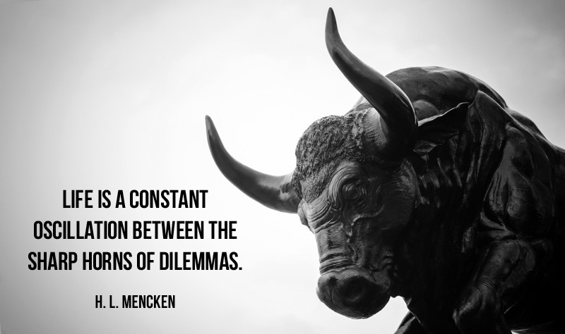 How leaders deal with dilemmas